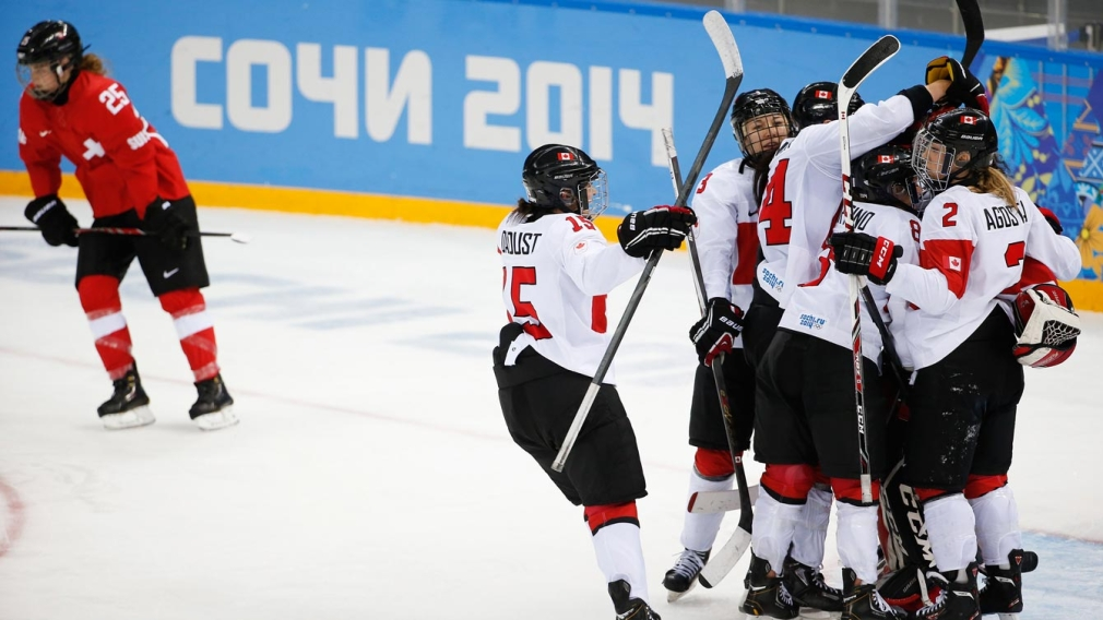 Team Canada's women to go for Olympic hockey gold vs rival USA