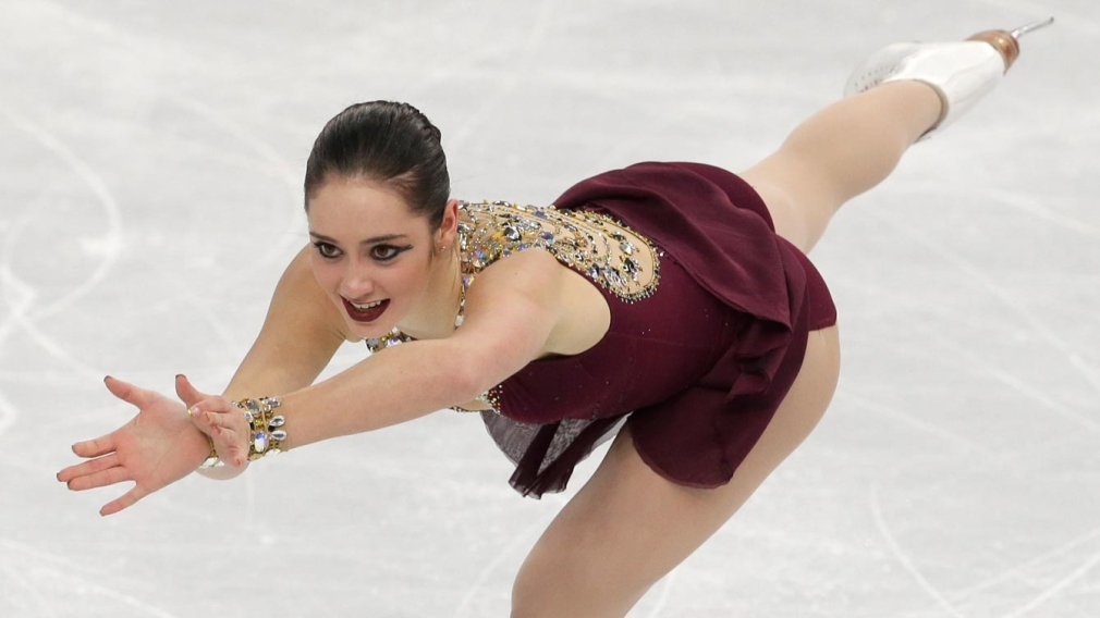 Kaetlyn Osmond fights fatigue and pain for strong finish