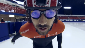 Behind the Scenes: Around the track with Charles Hamelin