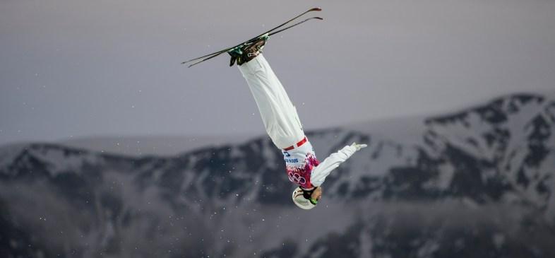 Travis Gerrits competing