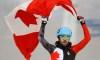 Charles Hamelin wins short track gold medal at Sochi