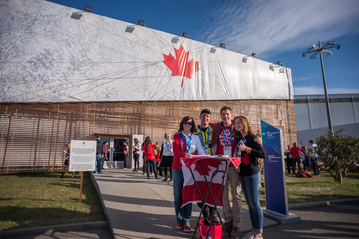 Canada Olympic House - Day 7
