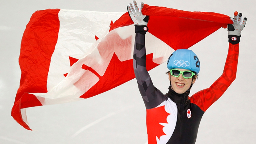 Charle Cournoyer wins bronze in 500m short track