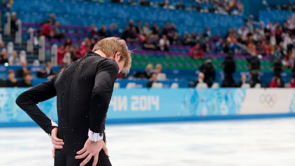 What is going ON in the men's figure skating event?!