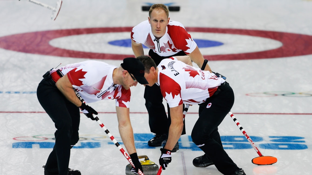 Curling teams sweep second straight day at Sochi