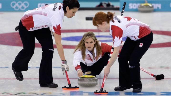 Jennifer Jones Sochi 2014