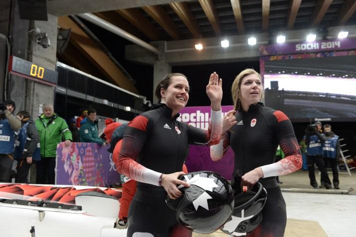 Jennifer Ciochetti and Chelsea Valois