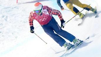 Brady Leman skiing
