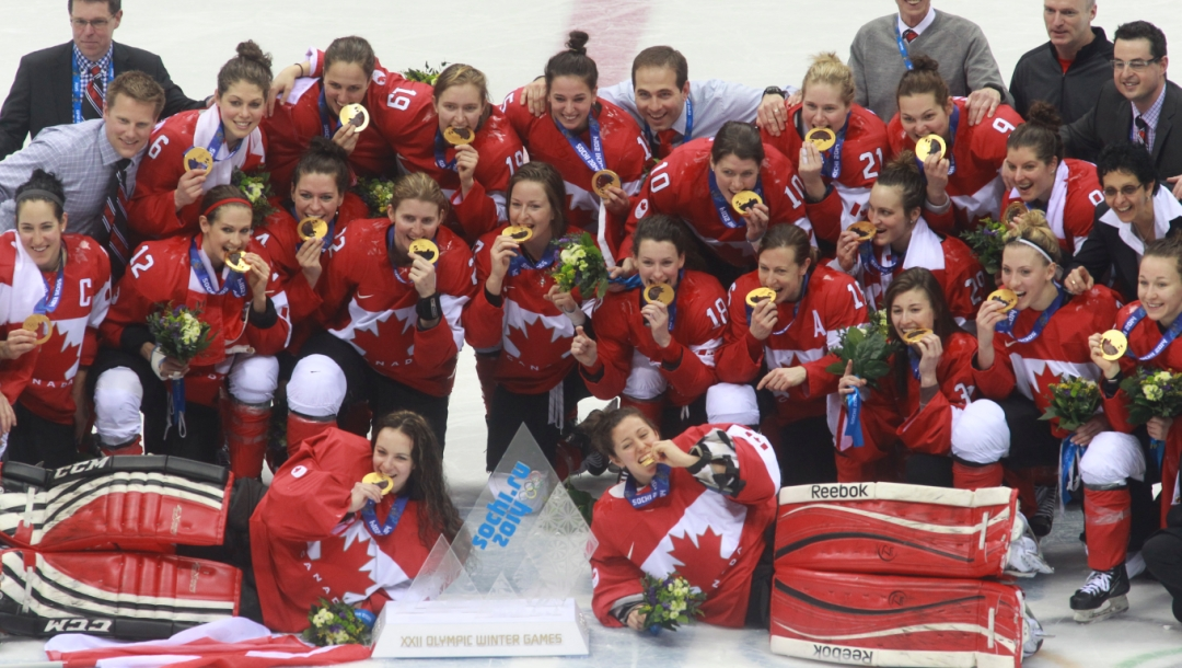 Women's Ice Hockey Gold Medal Game