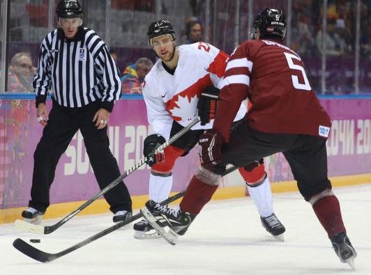 Canada vs Latvia men's hockey