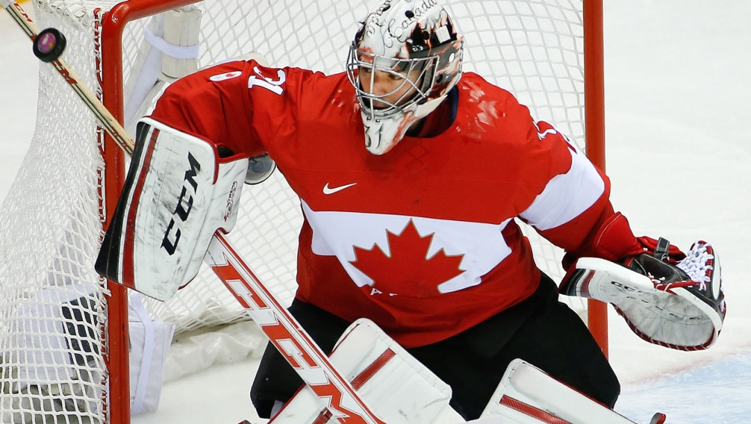 Carey Price at Sochi 2014