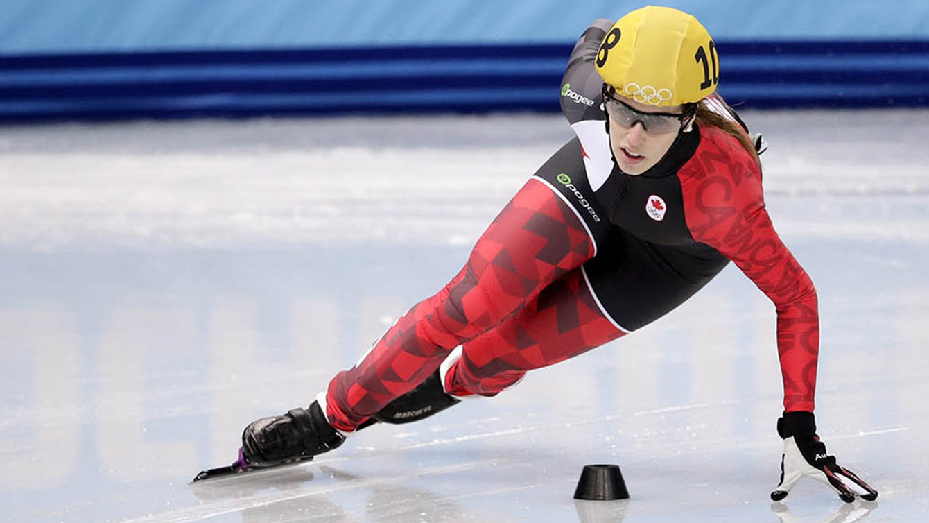 Marianne St-Gelais won five medals (four of them gold) representing Québec in 2007.