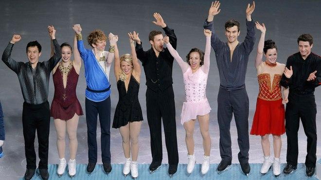 Figure skating team Sochi 2014