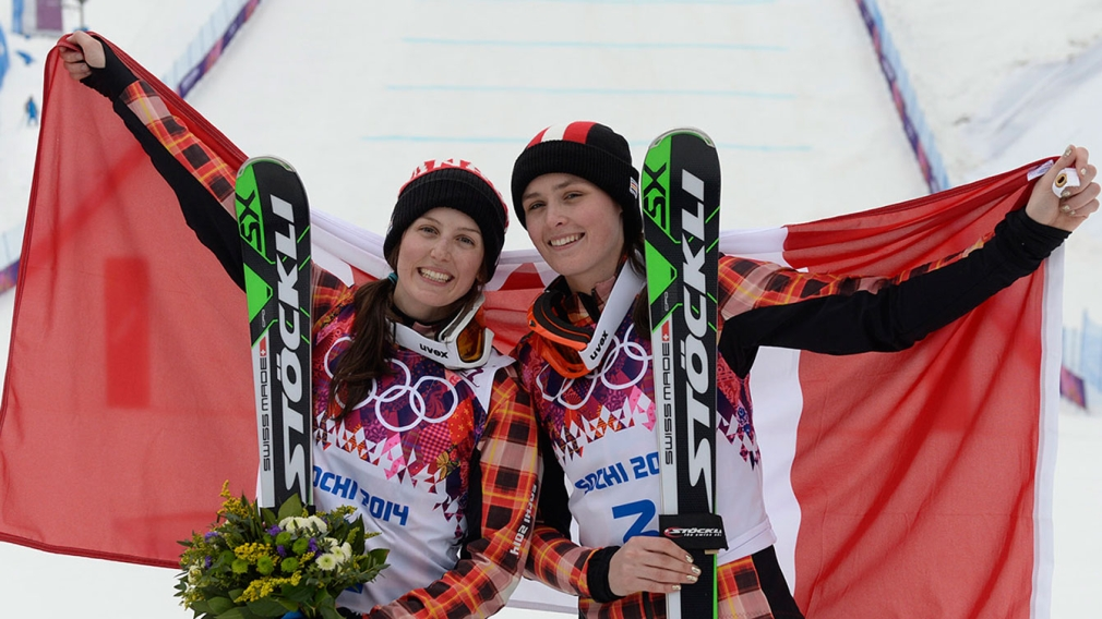 Thompson, Serwa win gold & silver at Sochi