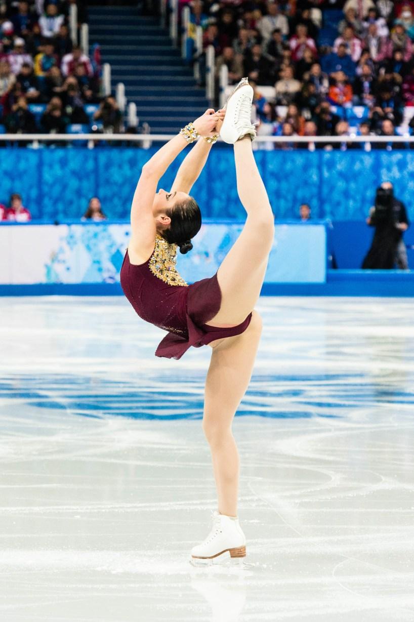 Kaetlyn Osmond competing