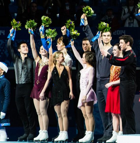 Team Canada on the podium
