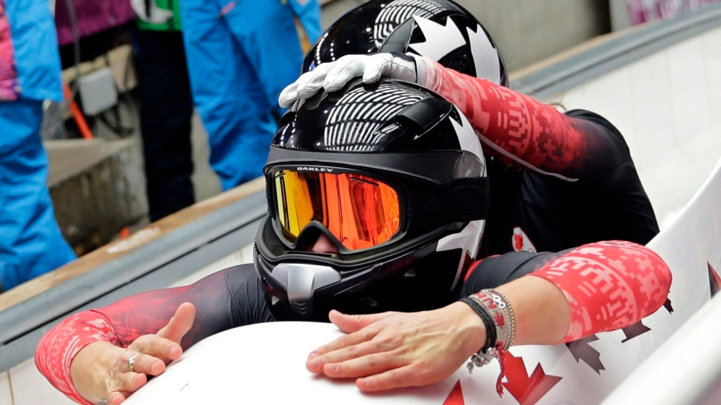 Humphries pilots golden sled at World Cup in Whistler