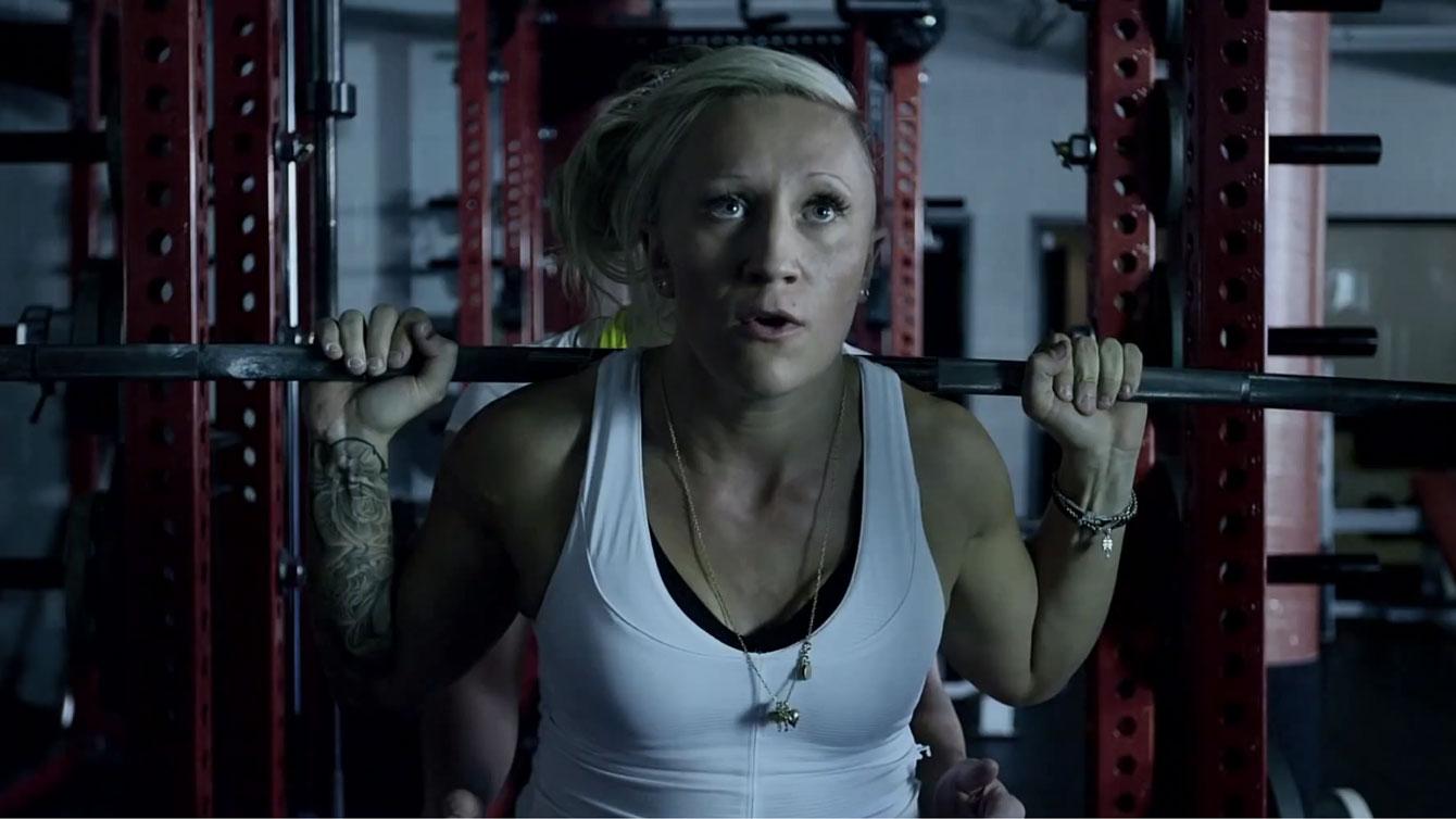 Kaillie Humphries Training
