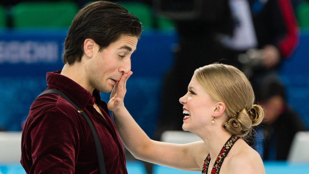 Weaver and Poje win World ice dance silver