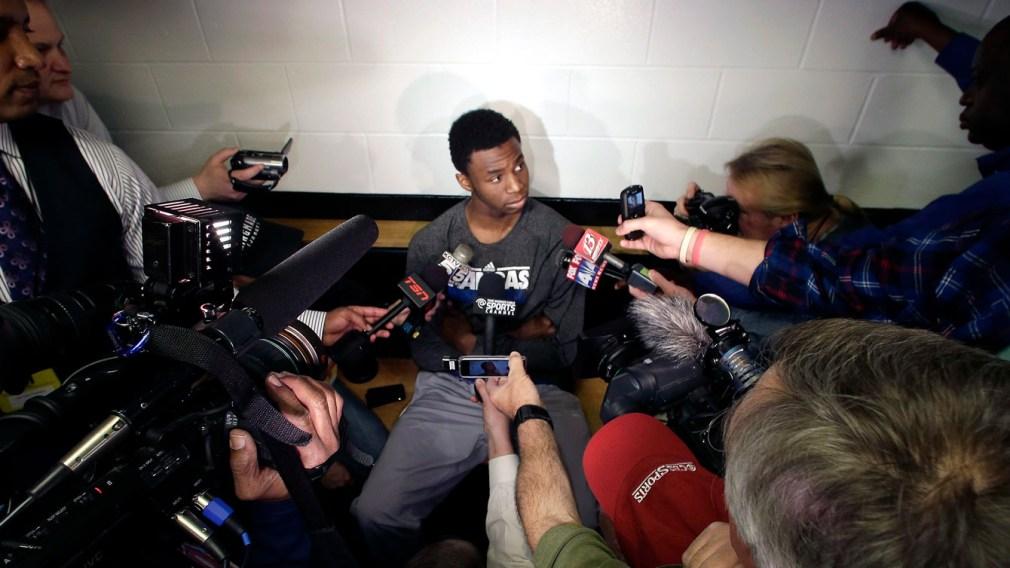 Wiggins sets sights on 2014 NBA draft