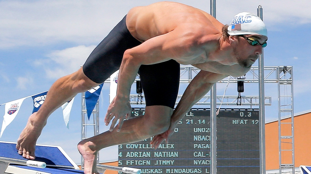 Michael Phelps races again, and Canadians entered in Charlotte Grand Prix