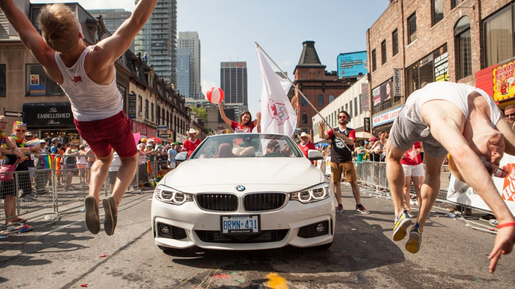 Team Canada rocks 2014 WorldPride Parade