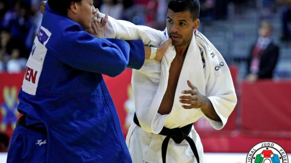Four Canadians on the Grand Slam podium in Judo
