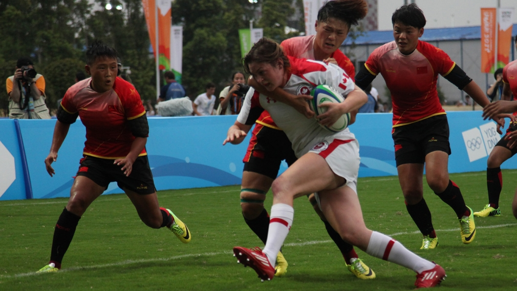 [PHOTOS]: Canada upsets host China in rugby sevens with hearty effort