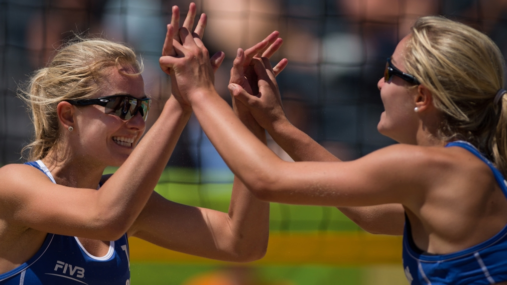 Nanjing 2014: Beach volleyball teams standing out ahead of tournament