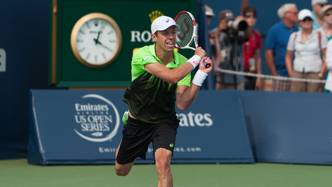 Daniel Nestor at 2014 Rogers Cup.