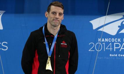 Ryan Cochrane - photo via Swimming Canada
