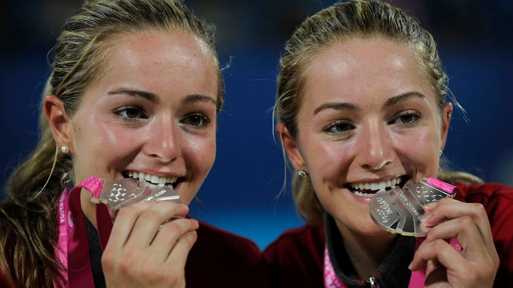 Nanjing 2014: McNamara twins and Philippe Gagné collect silver medals