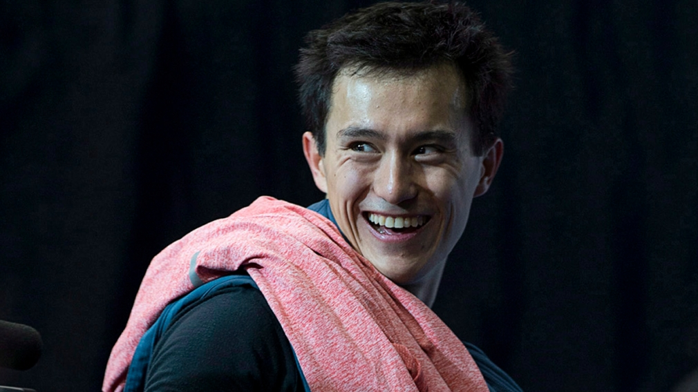 Patrick Chan announces his future in figure skating