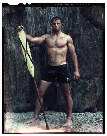 Jason McCoombs, canoeing