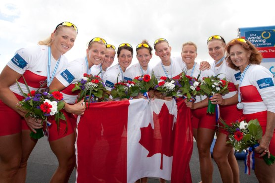 Team Canada women's eight - 2014 World Championships