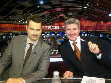 Jay Onrait & Dan O'Toole. Photo: http://bit.ly/1sM0FzB