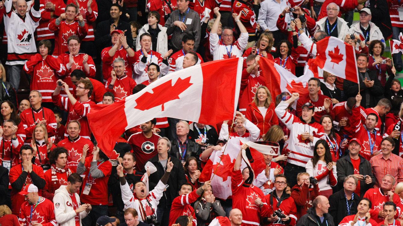 Canada v. USA men's ice hockey gold medal final - Vancouver 2010