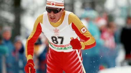 Pierre Harvey is an iconic cross country skier, the first Canadian to win an international event.