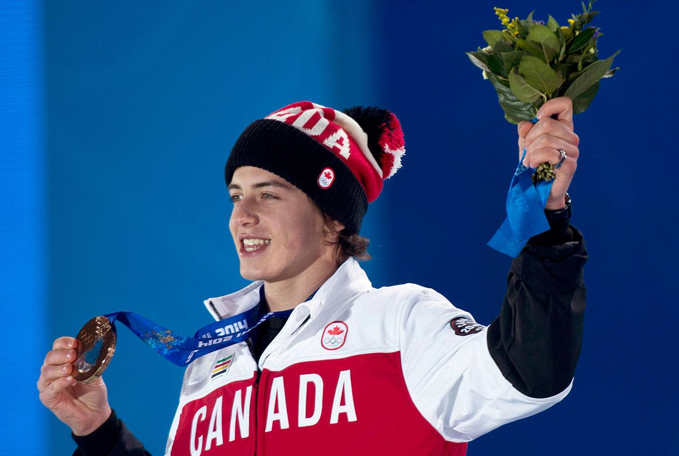 Sochi 2014 bronze medal-winning snowboarder Mark McMorris is a Canada Games alumn.