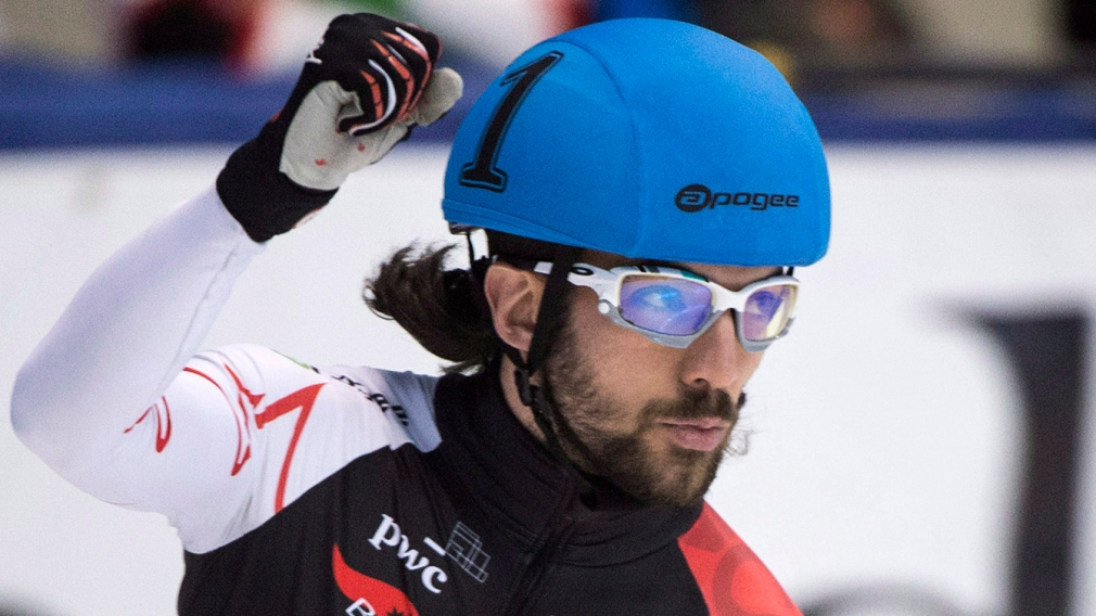 The World Cup short track team is an interesting mix of veterans and youth