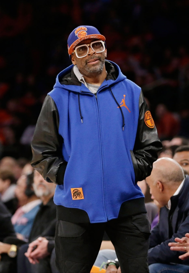 Spike has been a Knicks fan for as long as we can remember. Photo: CP