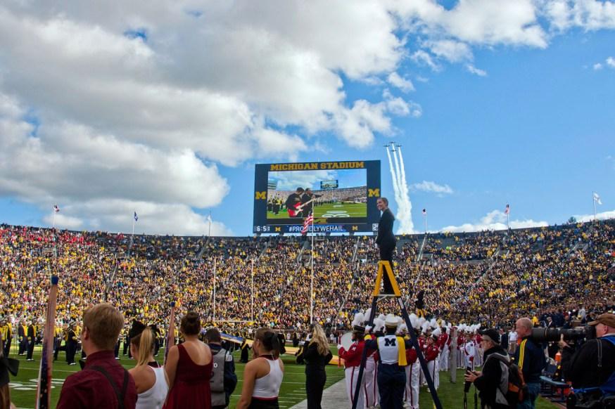 Michigan Stadium. Photo: CP