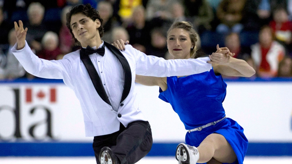 Gilles and Poirier win silver, book ticket to Grand Prix Final