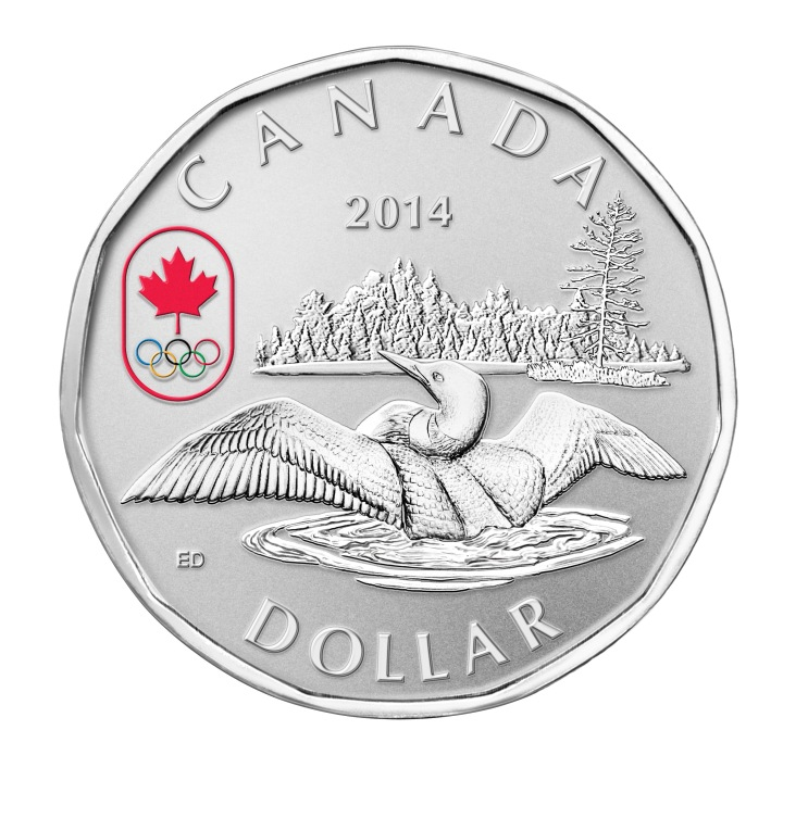 Silver Lucky Loonie