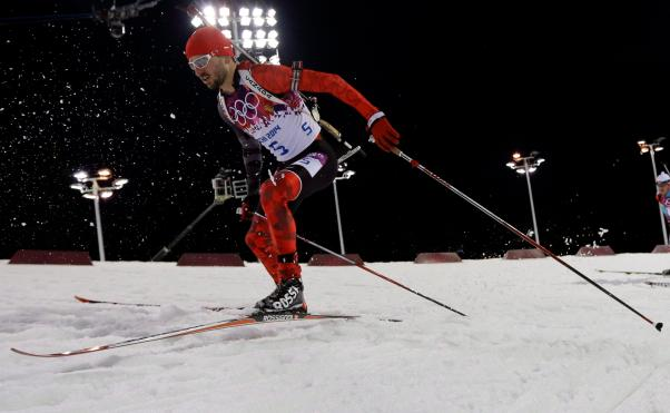 Sochi Olympics Biathlon Men