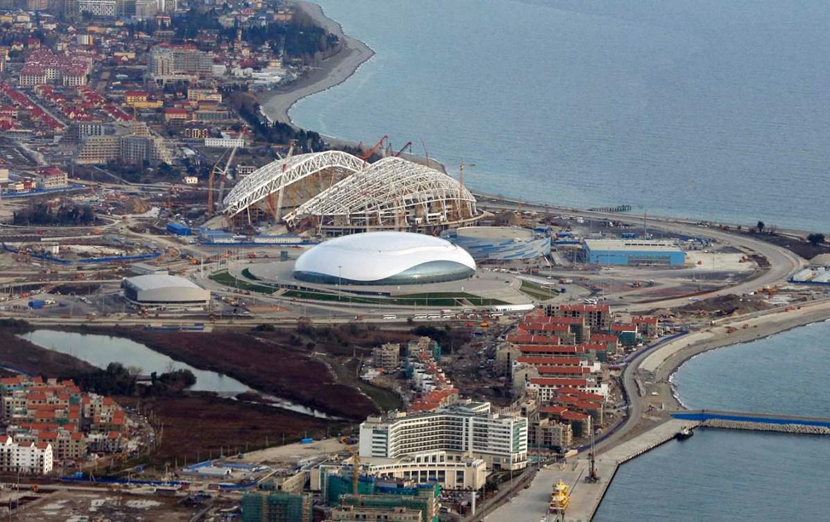 Sochi aerial view