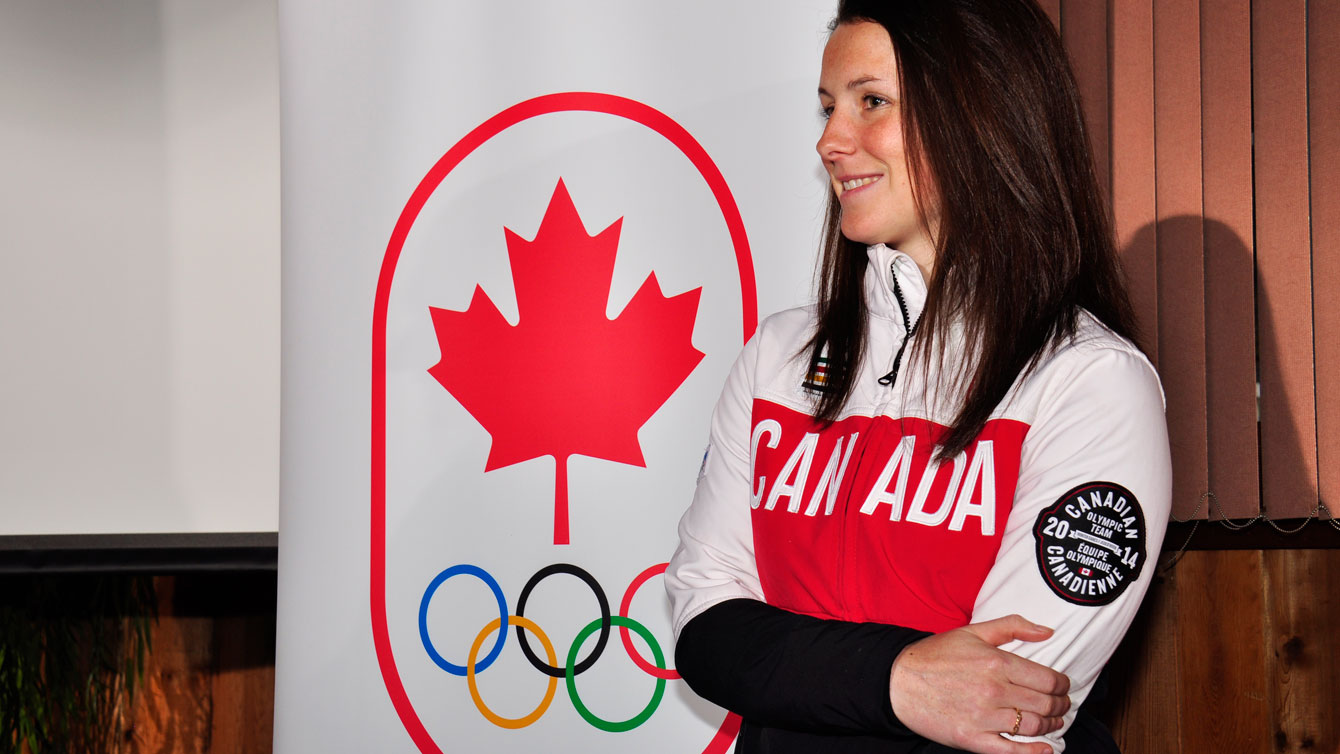 Catherine Ward is a two-time Olympic champion (Vancouver 2010 & Sochi 2014).