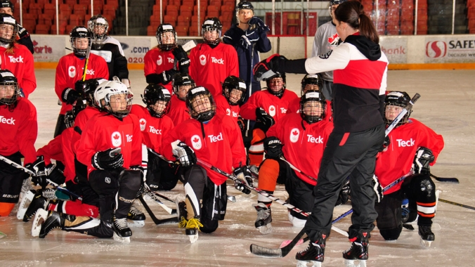 Teck brings Olympic-level experience to coaches & athletes in Canadian communities.