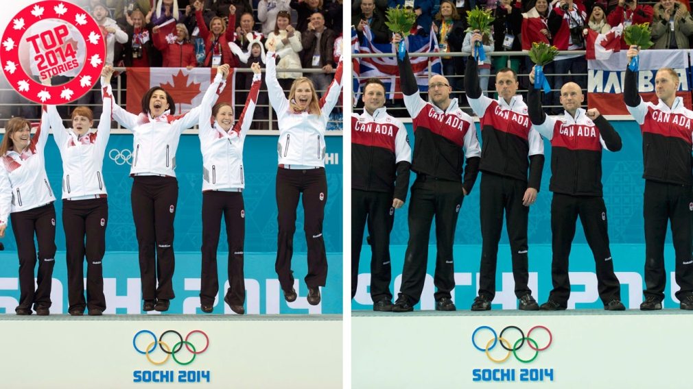 Top 2014: Curlers twice golden in Sochi