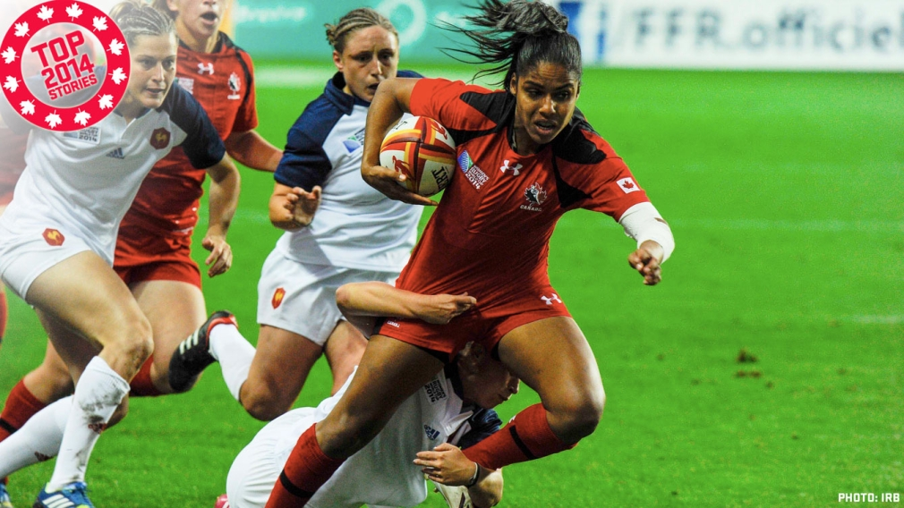 Top 2014: Canada's historic rugby runs